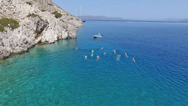 Explore beautiful swimming holiday experience on the Greek island of