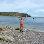 Lulworth Cove swimming