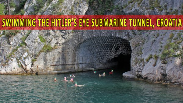 Swimming the Yugoslavian submarine tunnels • Strel Swimming