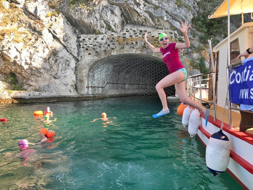 Swimming the Yugoslavian submarine tunnels • Strel Swimming