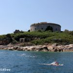 Mamula Island swimming