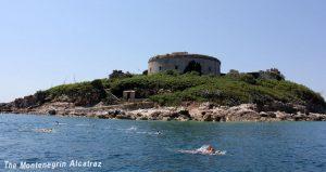 Mamula Island swimming