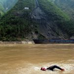 Martin Strel swimming Yangtze river