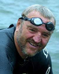 Martin Strel Marathon Swimmer