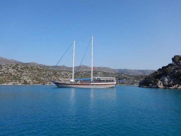 Swim and sail cruise