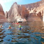 Swimming Lake Powell canyons