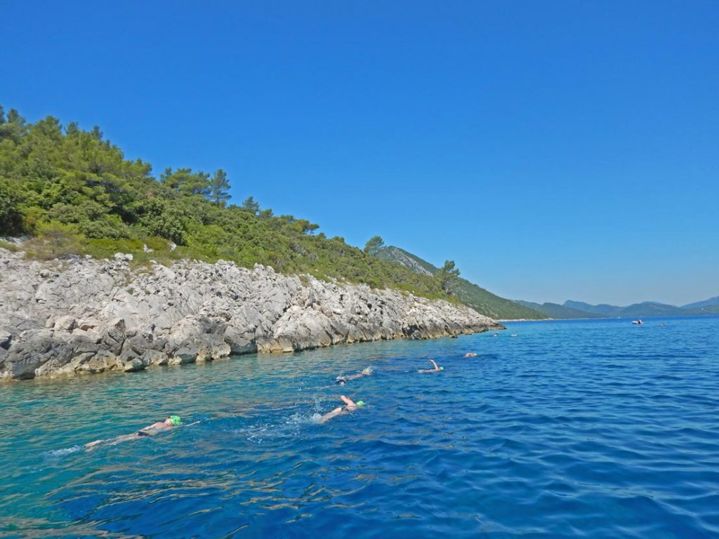 Croatian-Island-Hopping-Swimming