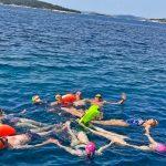Swimming-in-Croatia