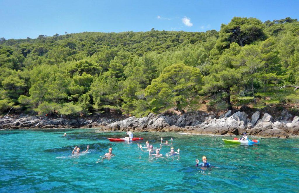 Croatian-Swimming-Tour-Islands
