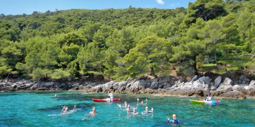 Croatian-Swimming-Tour-Islands