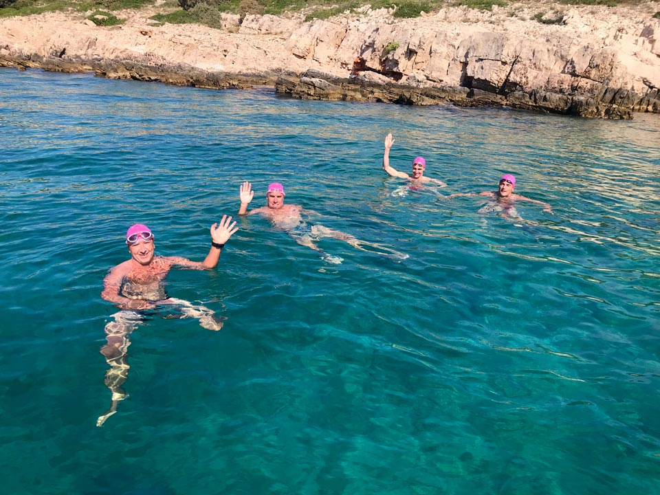 7 day Croatian Island Hopping swimming holiday in Dalmatia