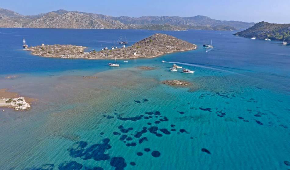 Bozburun Peninsula, Ada Boğazı, Turkey