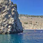 Schwimmwandern-Griechenland