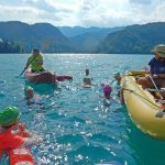 Swimming--Across-Lake-Bled