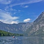 Swimming-Across-Lake-Bohinj