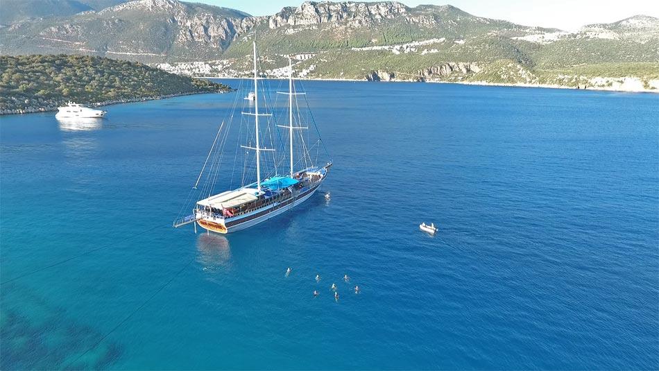 Swimming-Turkey-Limanagzi Bay