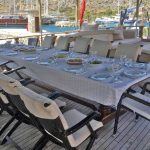 Gulet-Boat-Dinning-Table