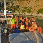 Swim-Sail-Vacation-Trip-Group