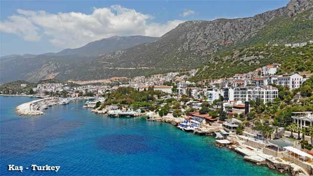 Kas-Turkey-Town