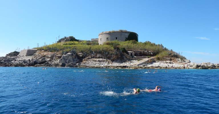 Swimming-Mamula-Island-Montenegro