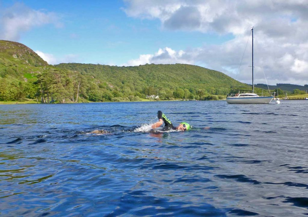 George-Taplin-Swimming-The-Lake-District