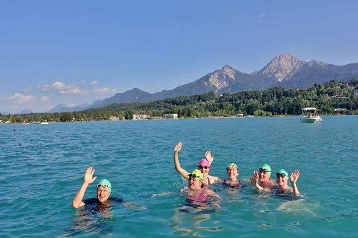 Swimming-In-Faaker-See-Lake-Austria