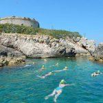 Swimming-Around-Mamula-Island-Montenegro