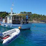Escort-Boat-Croatian-Islands-Swimmig