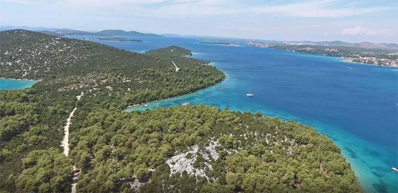 Panoramic-View-Sibenik-Archipelago-Grebastica