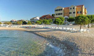 Hotel Spongiola (Krapanj Island, Croatia) Beach