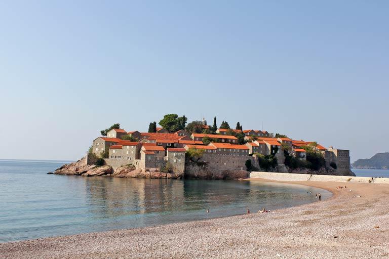 Sveti-Stefan-Beach-In-Montenegro