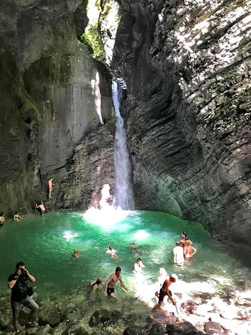 Kozjak-Waterfall-Swimming
