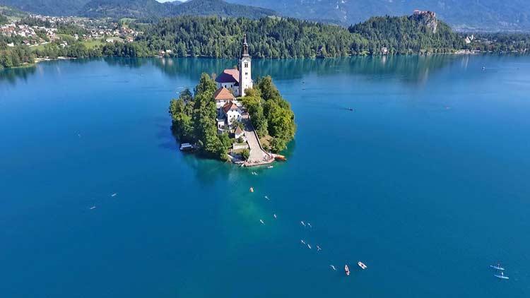 Lake-Bled-Swimming