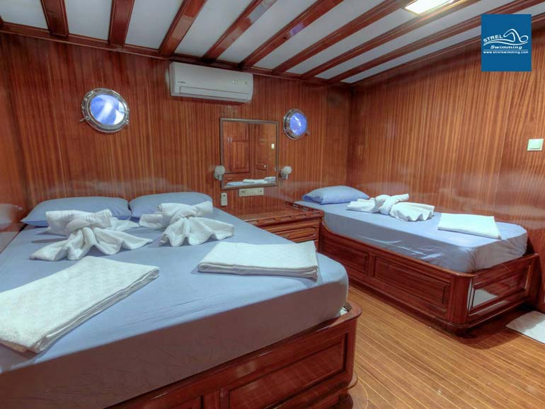 Liveaboard-Swimming-Holiday-Twin-Share-Room