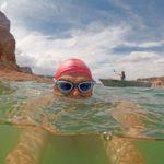 Swimming-Fishing-Lake-Powell-Arizona